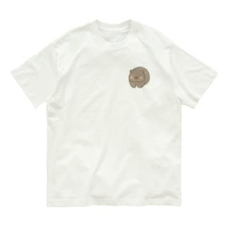 BooKeronのむっちりウォンバット Organic Cotton T-shirts