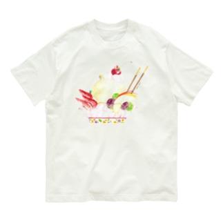 パフェ登山Tシャツ Organic Cotton T-shirts