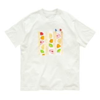フルーツサンド登山Tシャツ Organic Cotton T-shirts