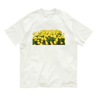 きいろい ちうりっぷ Organic Cotton T-shirts