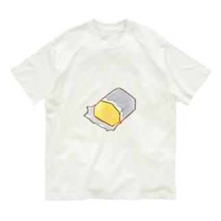 バターはおいしい Organic Cotton T-shirts