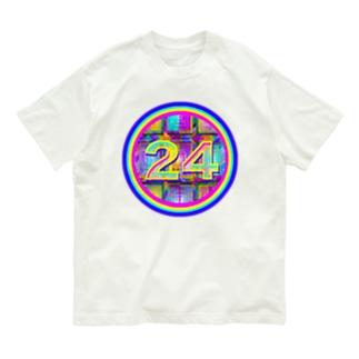 🌈happy lucky No.24🌈 Organic Cotton T-shirts