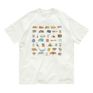 キャンプ道具Tシャツ Organic Cotton T-shirts