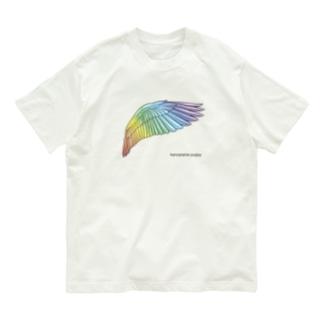 虹色のつばさ Organic Cotton T-shirts