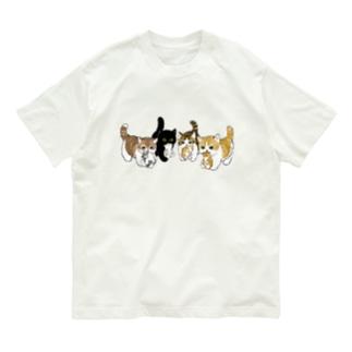 新しい家族を紹介します Organic Cotton T-shirts