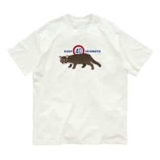 KEEP40 IRIOMOTE(青文字) Organic Cotton T-Shirt