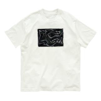 Box drawing -black- Organic Cotton T-shirts