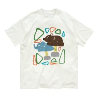 公園の石キッズ・ベビー Organic Cotton T-shirts