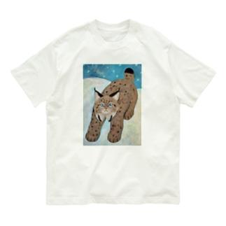 オオヤマネコ Organic Cotton T-shirts