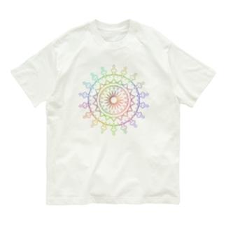 小鳥のレース模様 Organic Cotton T-shirts