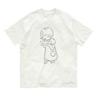 くしゃみ Organic Cotton T-shirts