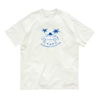 summer vacation Organic Cotton T-shirts