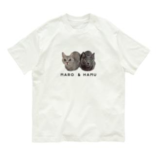 ハムマロ姉妹Tシャツ Organic Cotton T-shirts