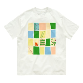 キツネのかくれんぼ Organic Cotton T-shirts