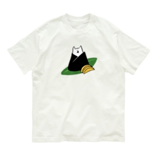 おにぎり猫 Organic Cotton T-shirts