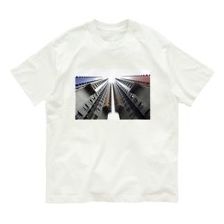 【建築】香港高層マンション2C Organic Cotton T-shirts
