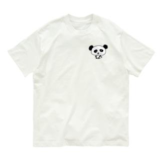 🐼パンダ Organic Cotton T-shirts