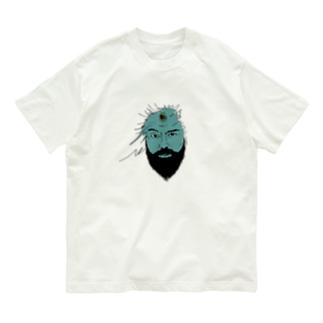 三つ目るオジサン Organic Cotton T-shirts