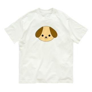 大きな耳のワンちゃん Organic Cotton T-shirts