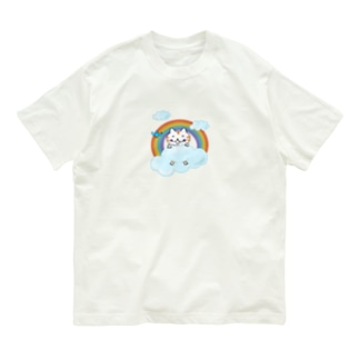 雲の上のねこちゃん Organic Cotton T-Shirt