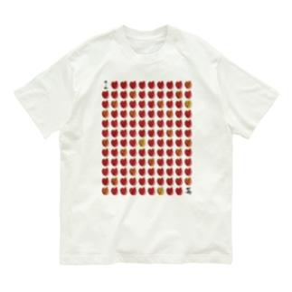 I LOVE …『苺』  Organic Cotton T-shirts
