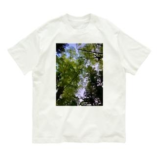 新緑の隙間 Organic Cotton T-shirts