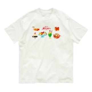 喫茶メニュー 表メニュー Organic Cotton T-shirts