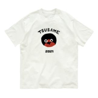 つばめ2021(保立葉菜図案) Organic Cotton T-shirts