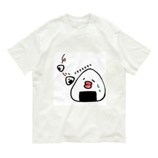 すってんころりんっおにぎりまる Organic Cotton T-shirts
