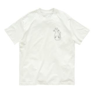 チェロ猫くん Organic Cotton T-shirts