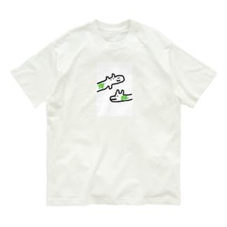 わに Organic Cotton T-shirts