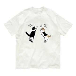 さわさわがりがり Organic Cotton T-shirts