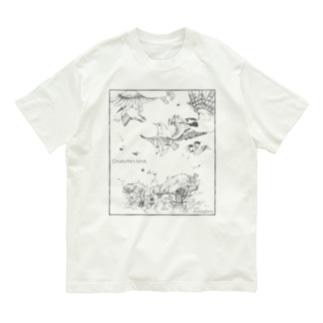 オーガニックコットンT シャーロットの鳥 Organic Cotton T-Shirt