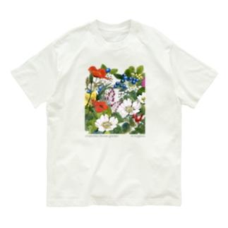 オーガニックT シャーロットの花園 Organic Cotton T-shirts