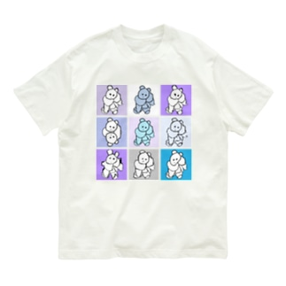 kmakici 9color Organic Cotton T-shirts