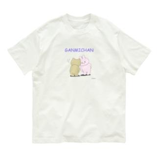 GANMICHAN Tシャツ Organic Cotton T-shirts