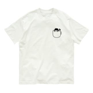 ポケットからのじこさん Organic Cotton T-shirts