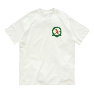 森のアカショウビン-2021 Organic Cotton T-shirts