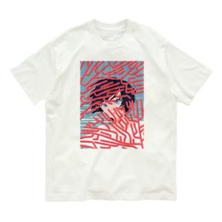 サンゴ礁の Organic Cotton T-shirts