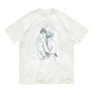 ねこくんかくんか Organic Cotton T-Shirt
