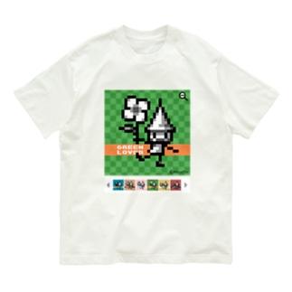 GreenLoverドッツさん Organic Cotton T-shirts