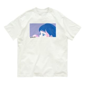 伊佐坂みつほのbubble gum Organic Cotton T-shirts