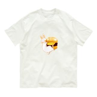 あんバターパンとうさぎ Organic Cotton T-Shirt
