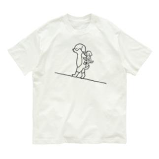 母の日/父の日ドッグ Organic Cotton T-shirts
