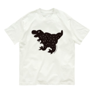 ブラックティラノ Organic Cotton T-shirts