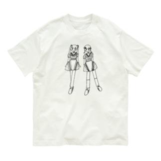 かわいいふたり Organic Cotton T-shirts