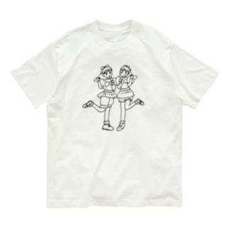 かわいいふたり2 Organic Cotton T-shirts