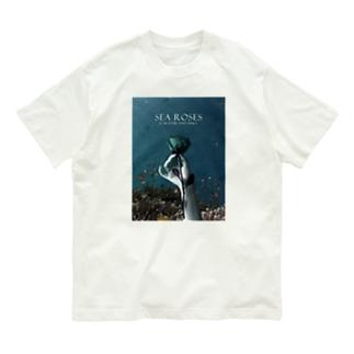 Create Mallの海の薔薇 Organic Cotton T-Shirt