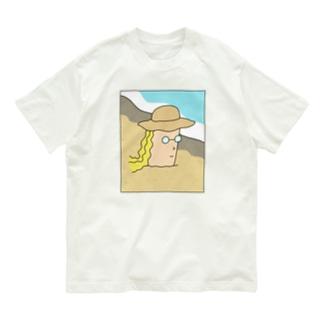 夏が来てる Organic Cotton T-shirts