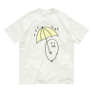 あめふりあざらし Organic Cotton T-shirts